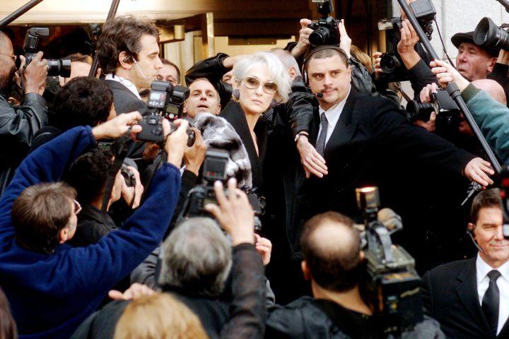 """Meryl Streep in """"The Devil Wears Prada""""."""