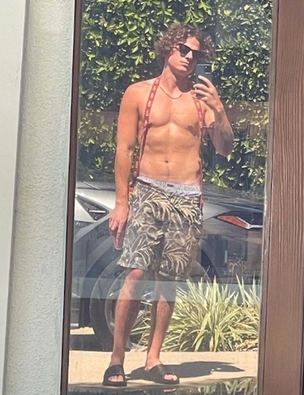 Charlie Puth Shares Shirtless Selfie