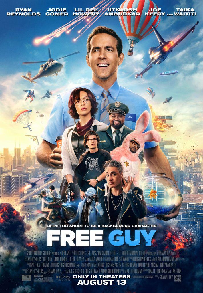 """Free Guy"" poster"