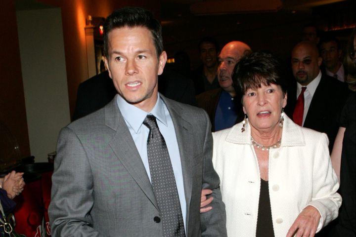 Mark Wahlberg and his mother, Alma Wahlberg
