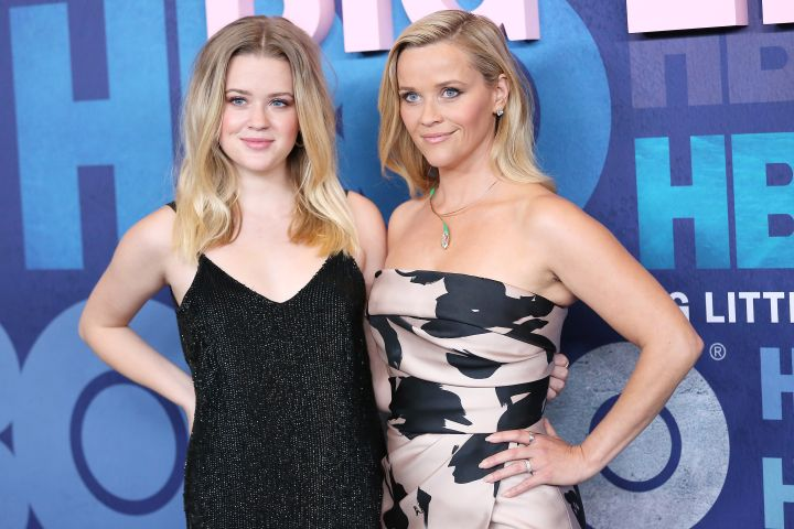 Ava Phillippe and Reese Witherspoon.