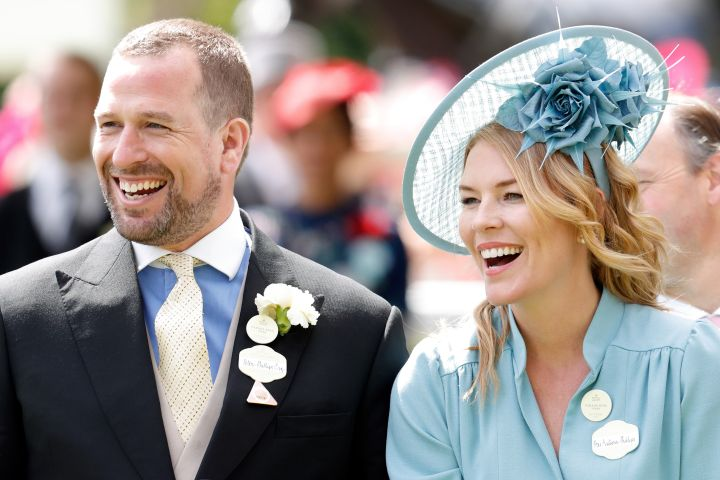 Peter and Autumn Phillips.