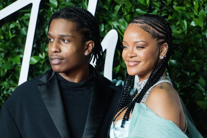 Rihanna and A$AP Rocky.
