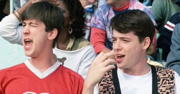 Alan Ruck And Matthew Broderick Were BFFs