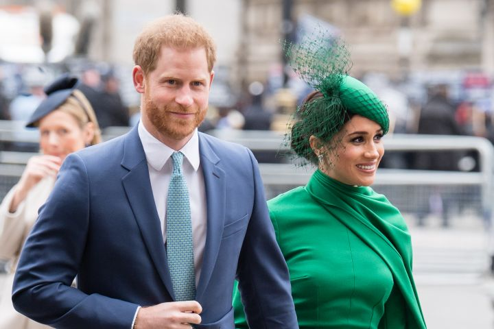 Meghan Harry Commonwealth Day 2020