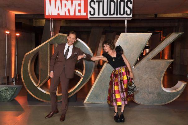 Tom Hiddleston, Sophia Di Martino Celebrate 'Loki'