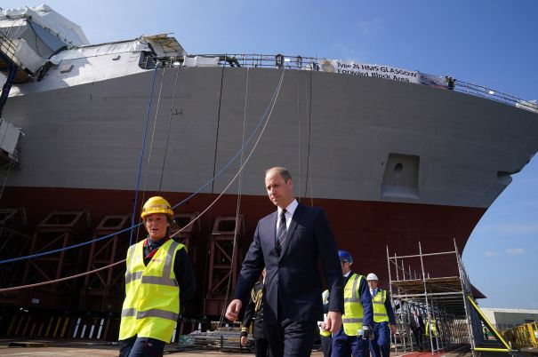Prince William At BAE Systems