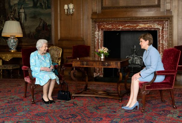 The Queen Visits Holyrood