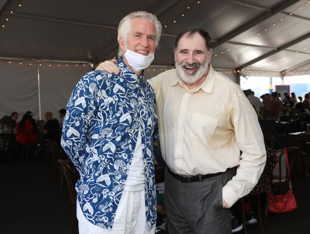 Matthew Modine And Richard Kind