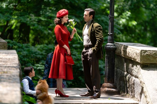Milo Ventimiglia Spotted Filming 'The Marvelous Mrs. Maisel'