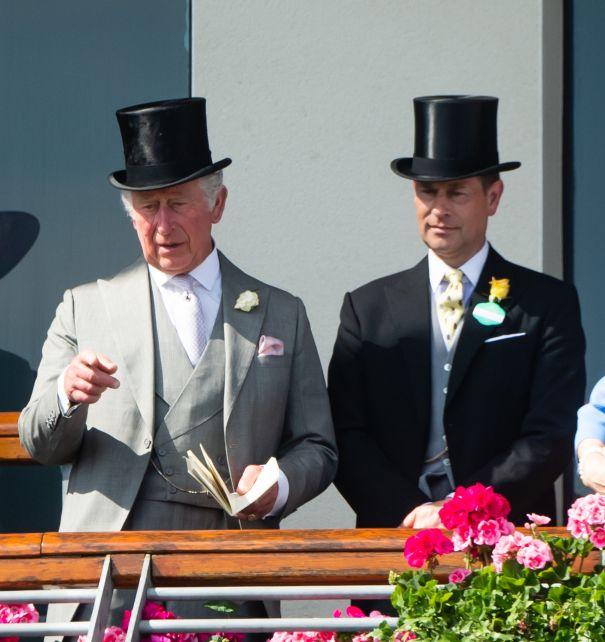Prince Charles + Prince Edward