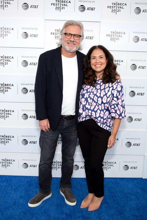 Brent And Mayerling Wilson At 'Long Promised Road' Premiere