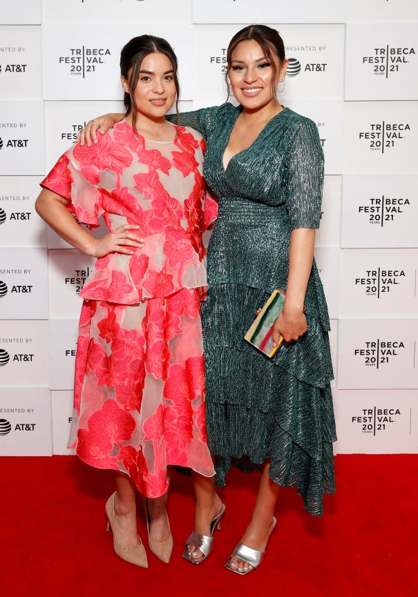 Devery Jacobs And Paulina Alexis