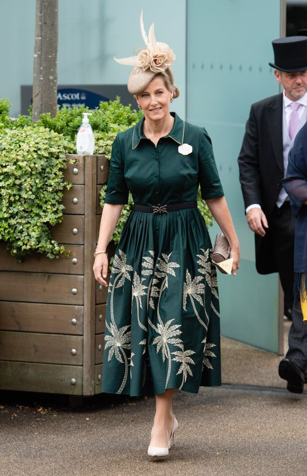Countess Of Wessex Arrives At Ascot