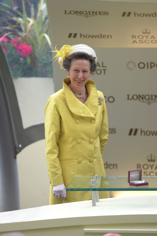 Princess Anne Is Lovely In Yellow