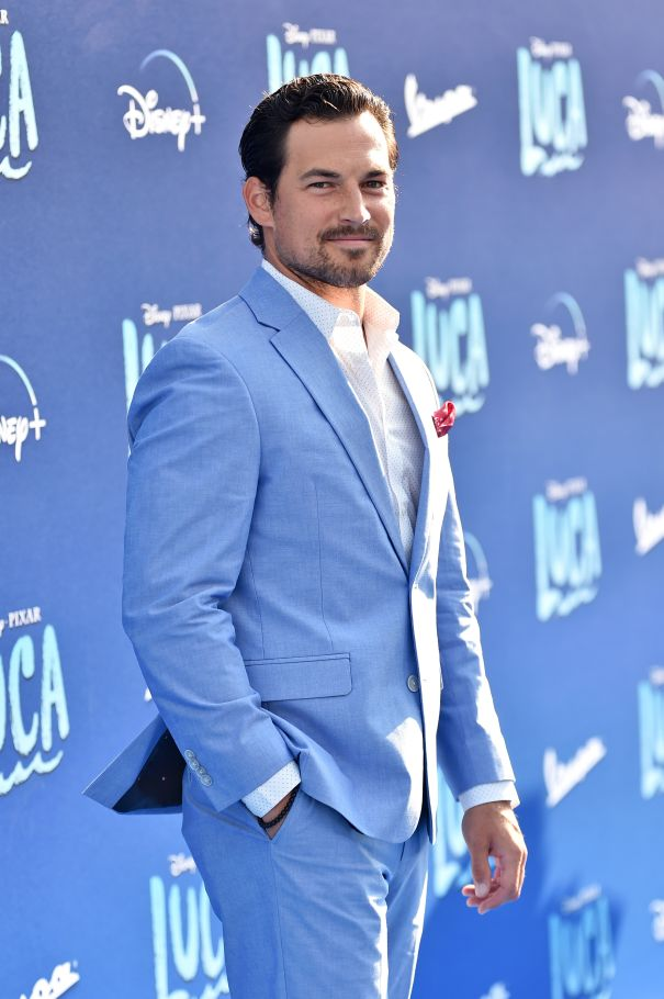 Giacomo Gianniotti Suits Up For 'Luca'