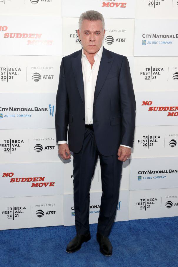 Ray Liotta Hits The Blue Carpet