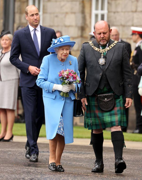 Queen Elizabeth Joins Prince William
