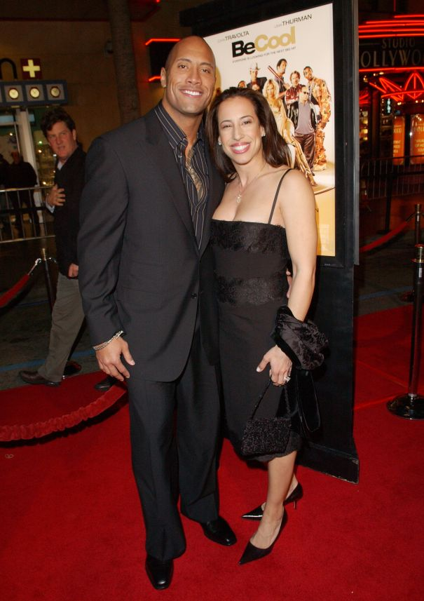 Dwayne Johnson And Dany Garcia