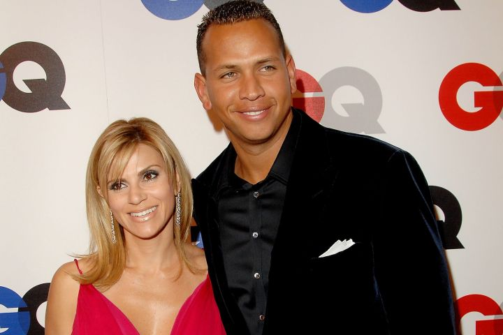 Alex Rodriguez and Cynthia Scurtis 2007