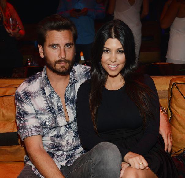 Kourtney Kardashian & Scott Disick