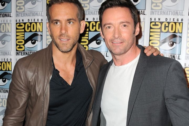 Ryan Reynolds, Hugh Jackman.