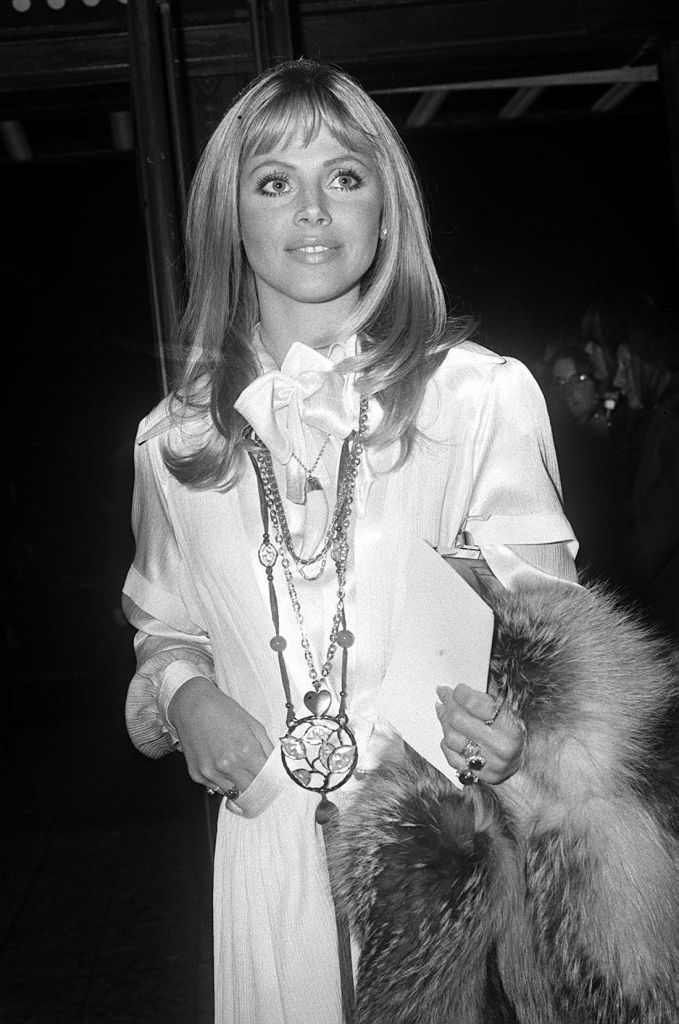 Actress Britt Ekland who co-stars with Roger Moore in the Bond film 'Moonraker'