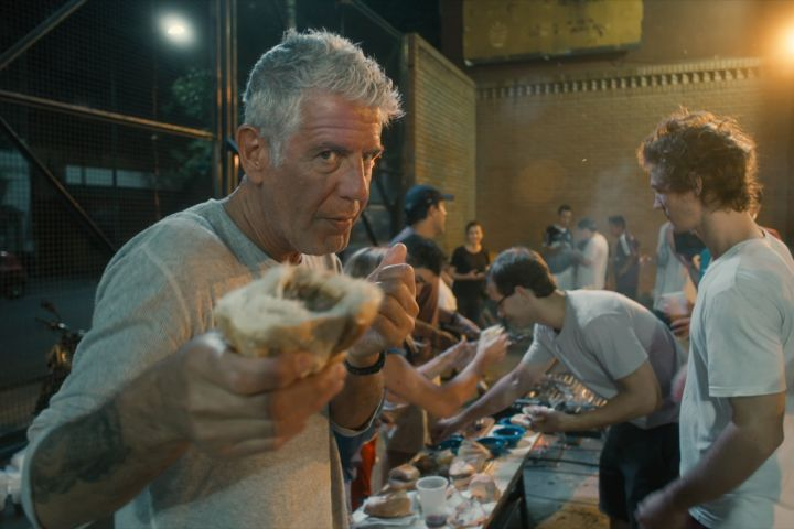 """Anthony Bourdain in Morgan Neville's documentary, """"Roadrunner"""", a Focus Features release. Courtesy of CNN / Focus Features"""