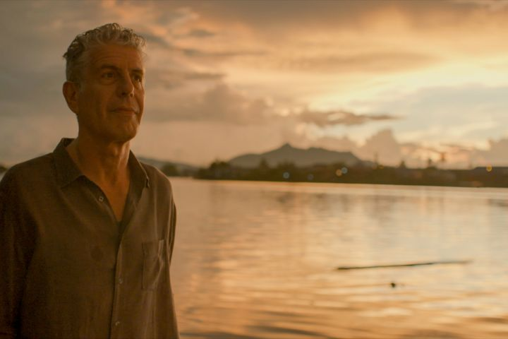 """Anthony Bourdain stars in Morgan Neville's documentary, """"Roadrunner"""", a Focus Features release. Courtesy of CNN / Focus Features"""