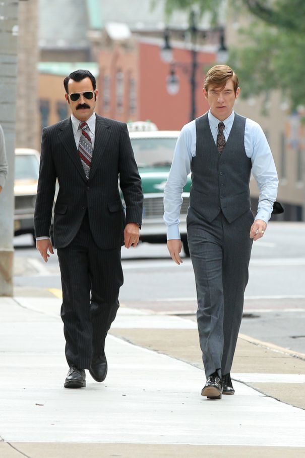 Justin Theroux's Sweet, Sweet Moustache