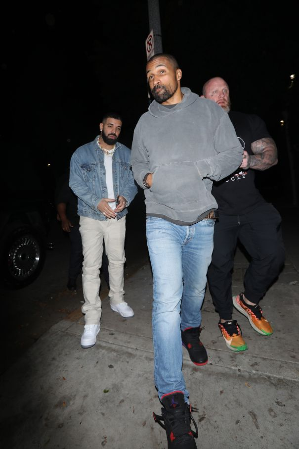 Drake And Matte Babel Hit A Party In Hollywood