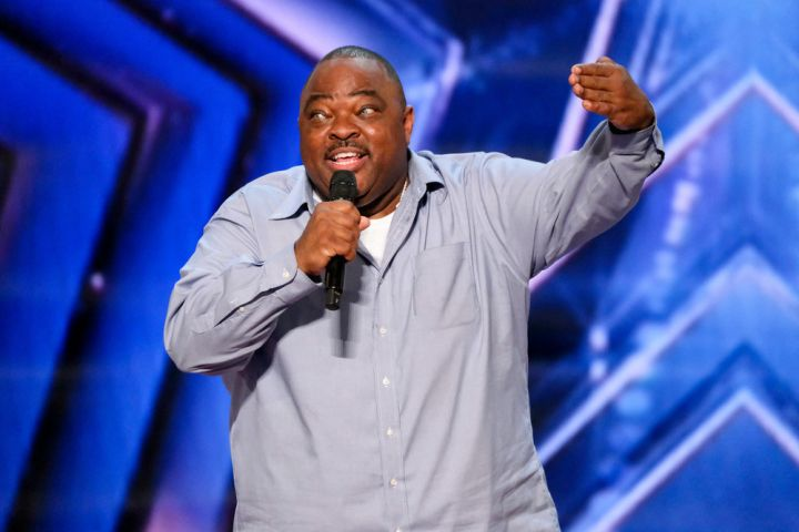 """Gerald Kelly on """"AGT"""". Photo by: Trae Patton/NBC"""