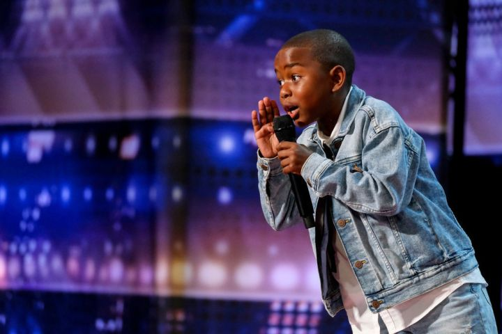 """Lil Hunter Kelly on """"AGT"""". Photo by: Trae Patton/NBC"""