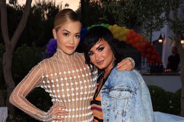 Rita Ora And Demi Lovato