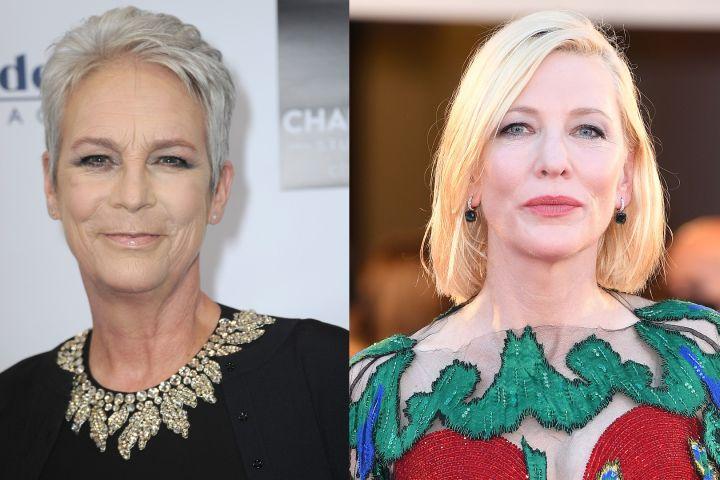 Jamie Lee Curtis, Cate Blanchett.
