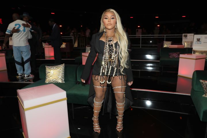 Lil Kim attends the BET Awards 2021.