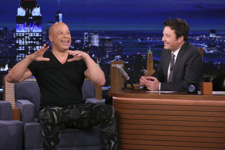 Vin Diesel, Jimmy Fallon. Photo by: Andrew Lipovsky/NBC