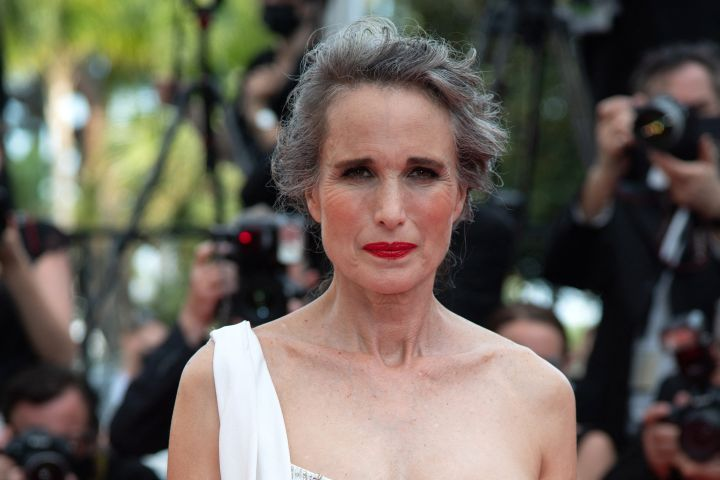Andie Macdowell attending the Tout S'est Bien Passe Premiere as part of the 74th Cannes International Film Festival in Cannes.