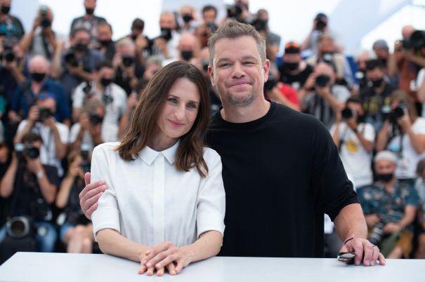 Matt Damon At Cannes