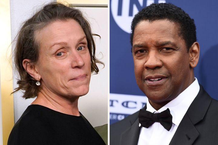 Frances McDormand and Denzel Washington