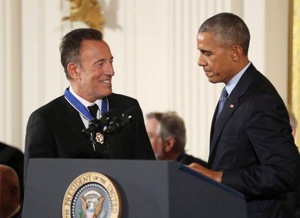 Barack Obama & Bruce Springsteen - 'Renegades'