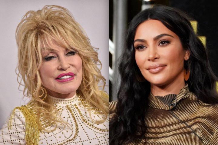 Dolly Parton, Kim Kardashian