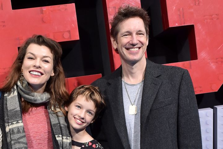 Milla Jovovich, Paul W. S. Anderson and daughter Ever Anderson