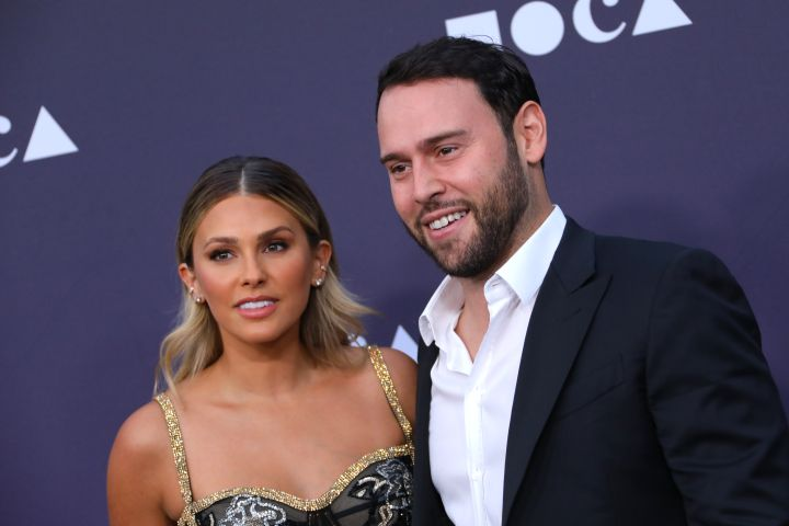 Yael Cohen and Scooter Braun