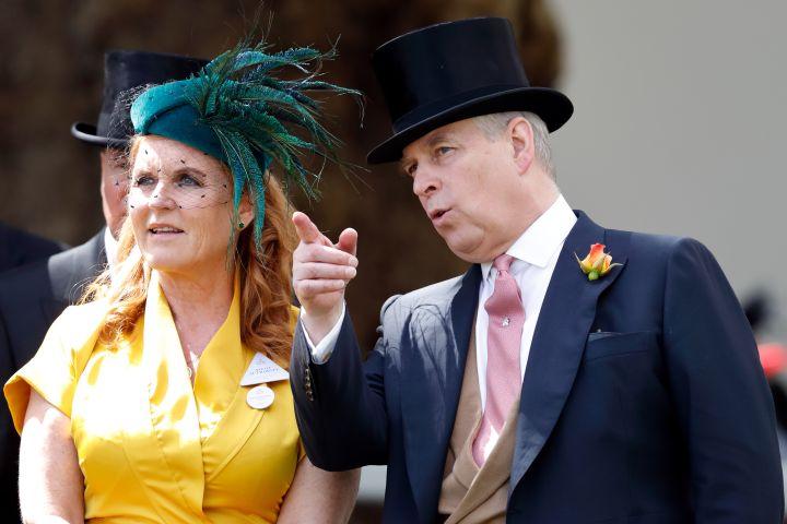Sarah Ferguson, Prince Andrew.