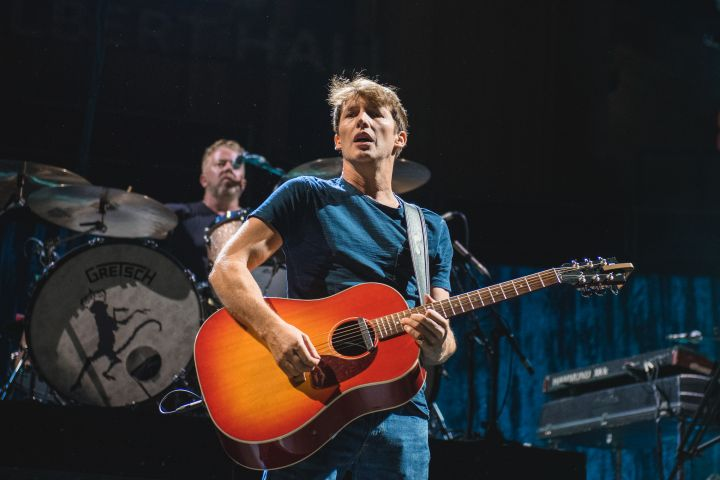 James Blunt performs at Royal Albert Hall on July 23, 2021