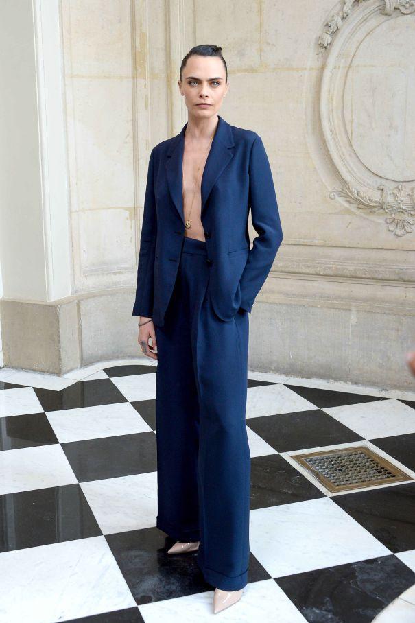 Cara Delevingne At Dior