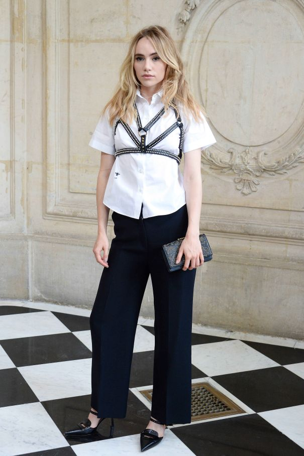 Suki Waterhouse Steps Out For Dior