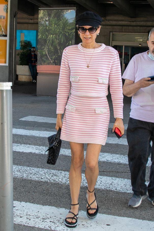 Diane Kruger Makes Her Arrival