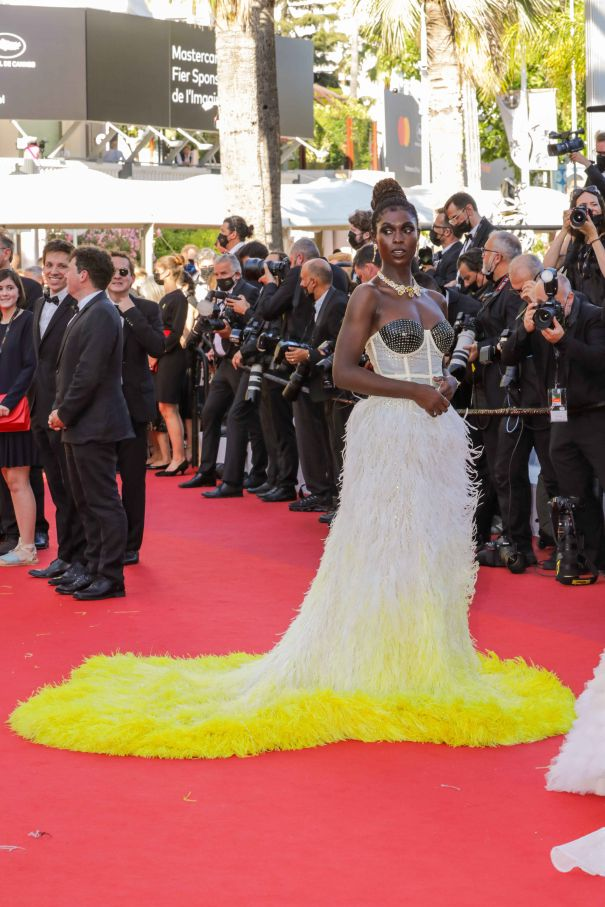 Jodie Turner-Smith's Pop Of Colour